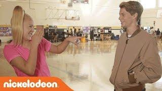 BTS w/ Jace Norman & JoJo for Fun & Games on Set of 'BLURT!'   Nick