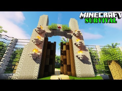 Xxx Mp4 BIKIN GERBANG JURASSIC PARK PALING KEREN TIADA TANDING Minecraft Survival 85 3gp Sex
