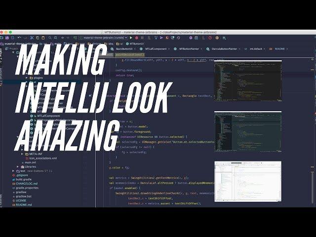 How to Make IntelliJ IDEA Look Amazing!! - Change Theme