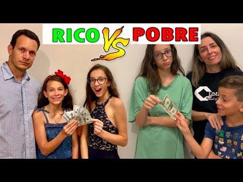 RICO VS POBRE FAZENDO AMOEBA SLIME 1