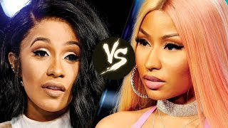 Nicki Minaj GOES OFF on Cardi B for Stealing Her Style!