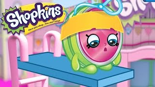 SHOPKINS - DIVING CONTEST | Cartoons For Kids | Toys For Kids | Shopkins Cartoon