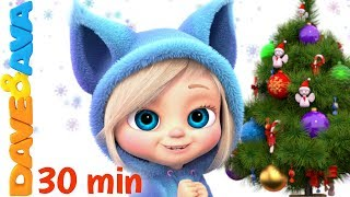 🎁 Christmas Time | Christmas Songs Collection | Christmas Songs for Children from Dave and Ava🎁