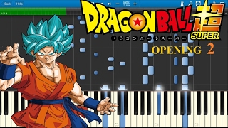 Dragon Ball Super: Opening 2 - PIANO