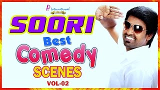Soori Best Comedy Collection | Latest Tamil Movies Comedy Scenes | Vol 2 |  Parotta Soori Scenes