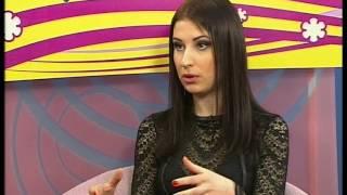 """Катерина Лукашик - дизайнер вечерней одежды и корсетов в программе """"Новый день"""""""