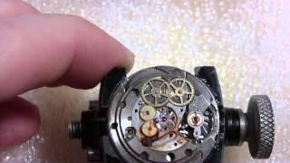 How I take apart a water damaged wrist watch, Gruen Precision Autowind