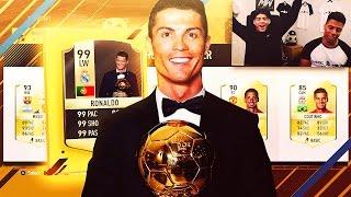 CRAZY BALLON DOR FUT DRAFT! - FIFA 17 ULTIMATE TEAM