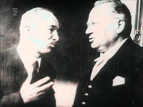 Ukázka z dokumentárního filmu Mnichov 1938