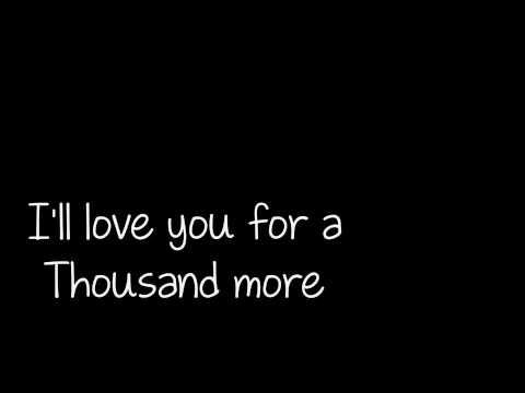 A Thousand years Christina Perri Lyrics HD 1080p