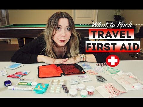 What To Pack TRAVEL FIRST AID KIT