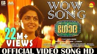 Wow Song Official Video HD | Godha | Wamiqa | Tovino | Aju Varghese | Basil Joseph | Shaan Rahman