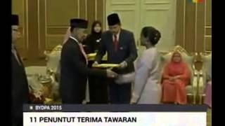 YBM featured on TV3 - King's Scholarship (Biasiswa Yang di-pertuan Agong) 2015/2016