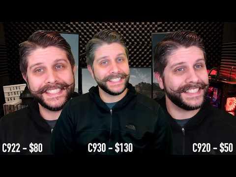 Logitech C930 v C922 v C920 for streaming and my settings