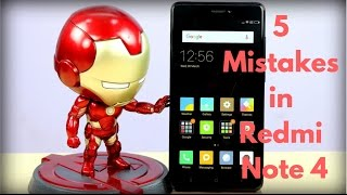 5 Mistakes, Things Missed in Redmi Note 4 | Gadgets To Use