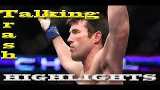 Chael Sonnen: The American Gangster's Trash Talking Highlights