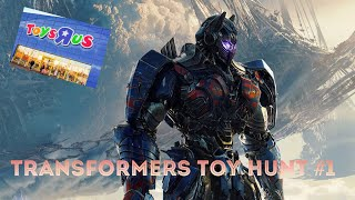 Transformers Toy Hunt #1-NEW THE LAST KNIGHT FIGURES!!!!!!!