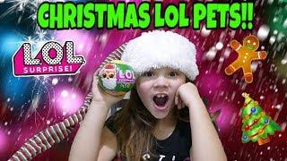 Christmas LOL Surprise Pets! Custom Christmas LOL Dolls