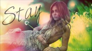 Miley Cyrus - Stay (Acoustic Version) - HQ Audio