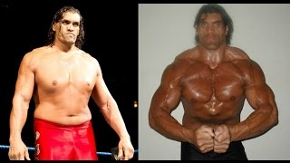 The Great Khali was a bodybuilder before the WWE
