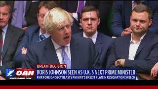 Boris Johnson Seen as U.K.