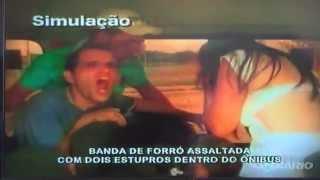 Assalto a Banda Gatinhos do forro ( Simulação ) Programa João Inácio Show ( TV Diário )
