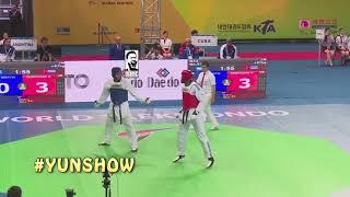 World Taekwondo Championships highlight 2017 Muju 태권도 Part 4