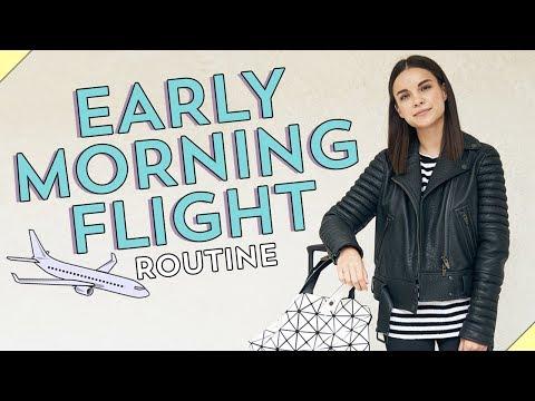 My Early Morning Flight Routine Ingrid Nilsen