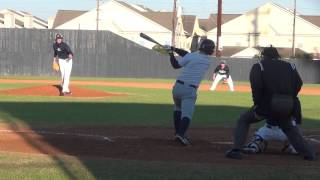 Griffin Hattingh pitch field and  bat February 2015