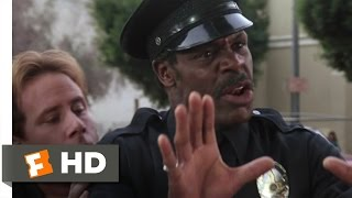 Lethal Weapon 3 (2/5) Movie CLIP - Scaring the Jaywalker (1992) HD