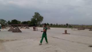 Iqbal Hasan Mahmud Bowling Practice