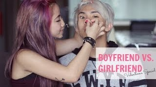 Boyfriend VS Girlfriend