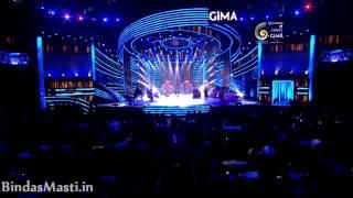 Arijit Singh GIMA Awards live medley 2016
