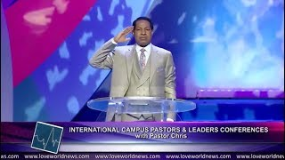 """Pastor Chris - """"Yes Sir"""" at the Int'l Campus Pastors' and Leaders' Conference Day 1"""
