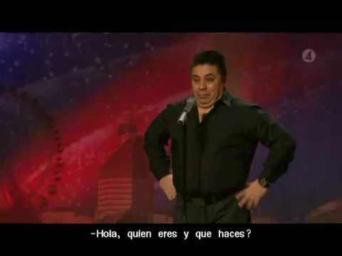 Freddy Amigo en Suecia tiene talento subtitulos en español Sweden got talent talang 2010