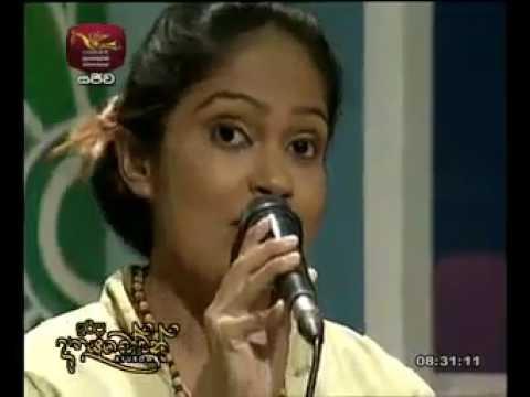 Sithara Madushani Singing Song On Jathika Rupavahini