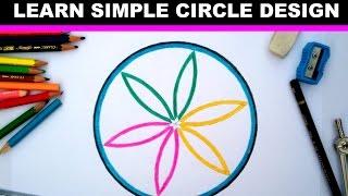 simple design in circle