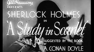 Sherlock Holmes Mystery Thriller Movie - A Study In Scarlet (1933)