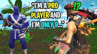 I met a FAKE Ghost pro player...but he might actually be better? (HE