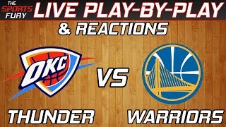 Thunder vs Warriors | Live Play-By-Play & Reactions