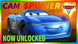 Cars 3 Driven to Win - gameplay - Cam Spinner