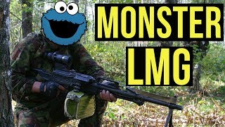 Monster LMG | Milsim West: Last Stand Rostov Part 2 (Raptor PKP Pecheneg AEG LMG)