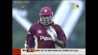 Gayle & Lara magical 151 run partnership in 19 overs vs Australia 2006