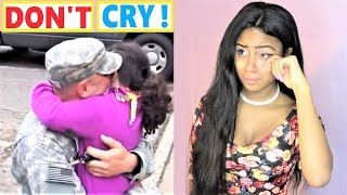 TRY NOT TO CRY Soldiers Coming Home | Most Emotional Compilations