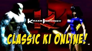 CLASSIC KI ONLINE! Killer Instinct Arcade 1994 Edition: Ranked Online