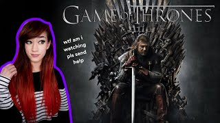 Watching Game of Thrones for the first time - Reaction to Season 1 Episode 1 & 2 (+ discussion)