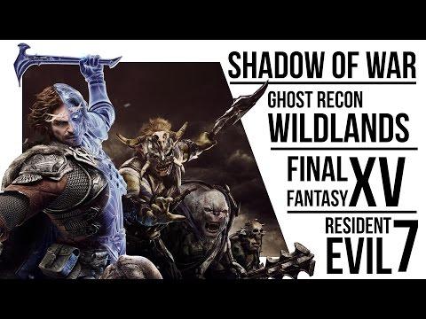 PG Gaming Podcast 2 Shadow of War Wildlands Final Fantasy XV Resident Evil 7
