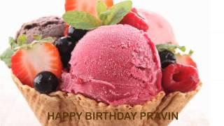 Pravin   Ice Cream & Helados y Nieves - Happy Birthday