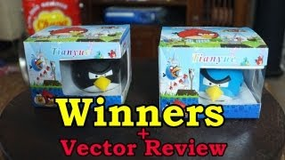 Angry Birds Speakers - Winners Announced + Vector for iPhone & iPad