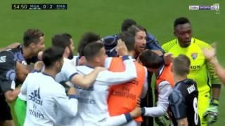 اهداف ريال مدريد وملقا 2-0 | تعليق علي محمد علي | شاشة كاملة | الدوري الاسباني